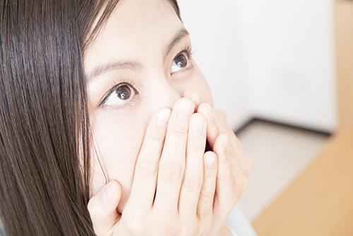 口臭を予防できます